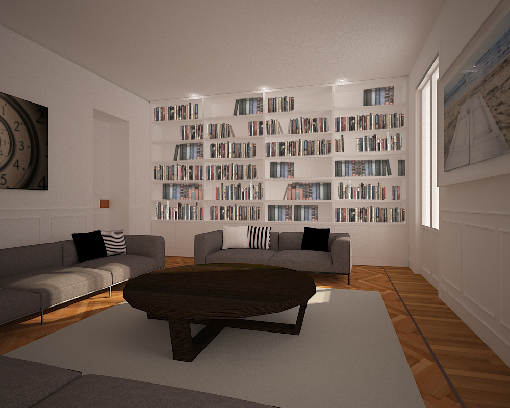 Pjk Inndesign: interior design - Designer Rome, Render